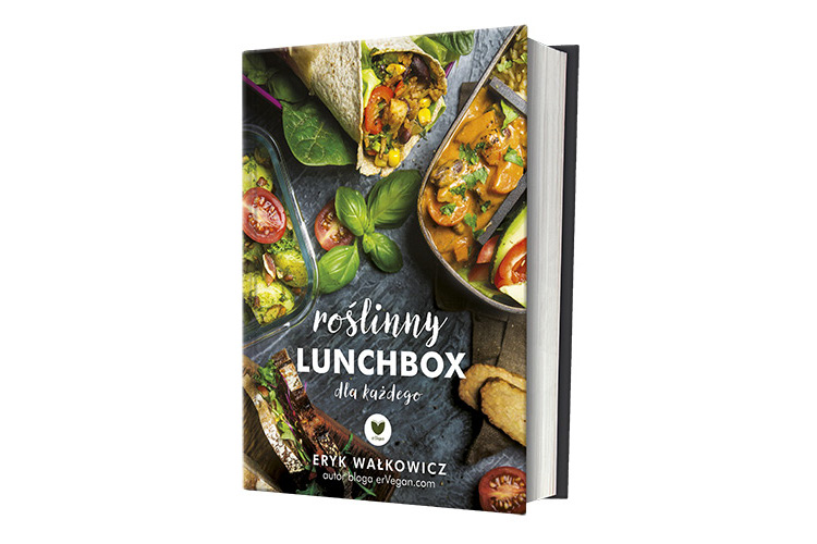 """erVegan powraca z książką """"Roślinny lunchbox dla każdego"""""""