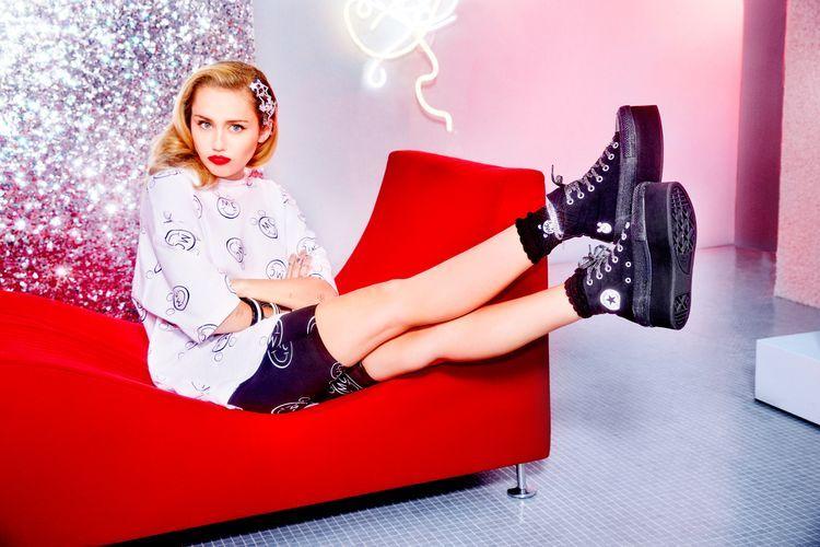 Prezentujemy kolekcję Miley Cyrus dla Converse!