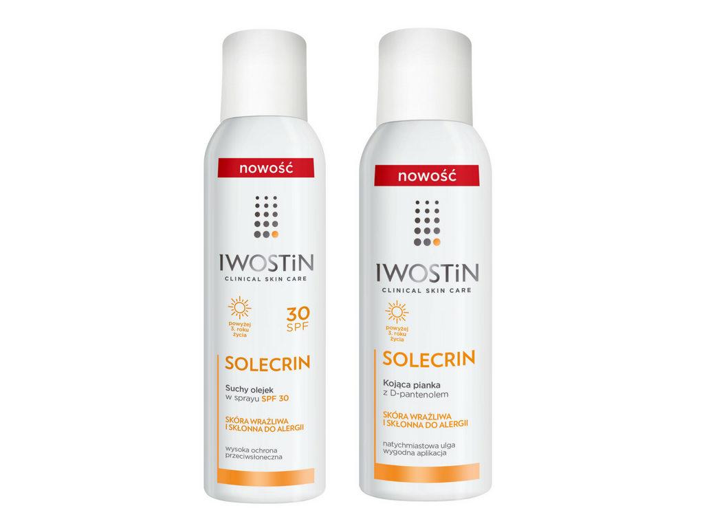 Iwostin Solecrin® specjalistyczna ochrona przeciwsłoneczna dla całej rodziny