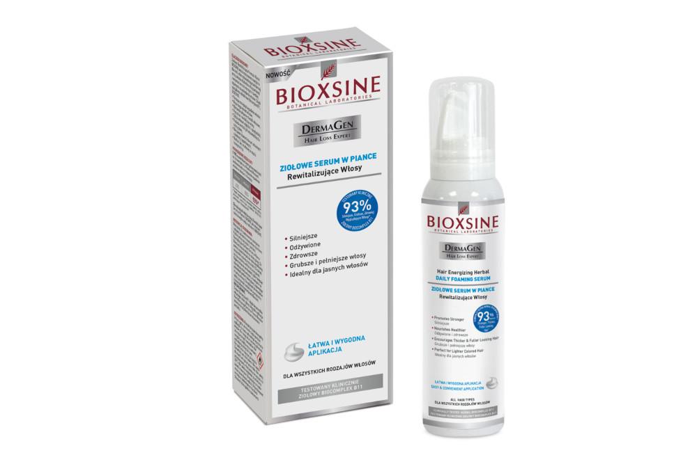 Serum do włosów na letnie upały – Bioxsine