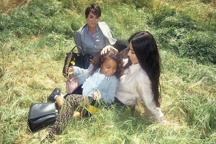 Trzy pokolenia Kardashianek w nowej kampanii Fendi