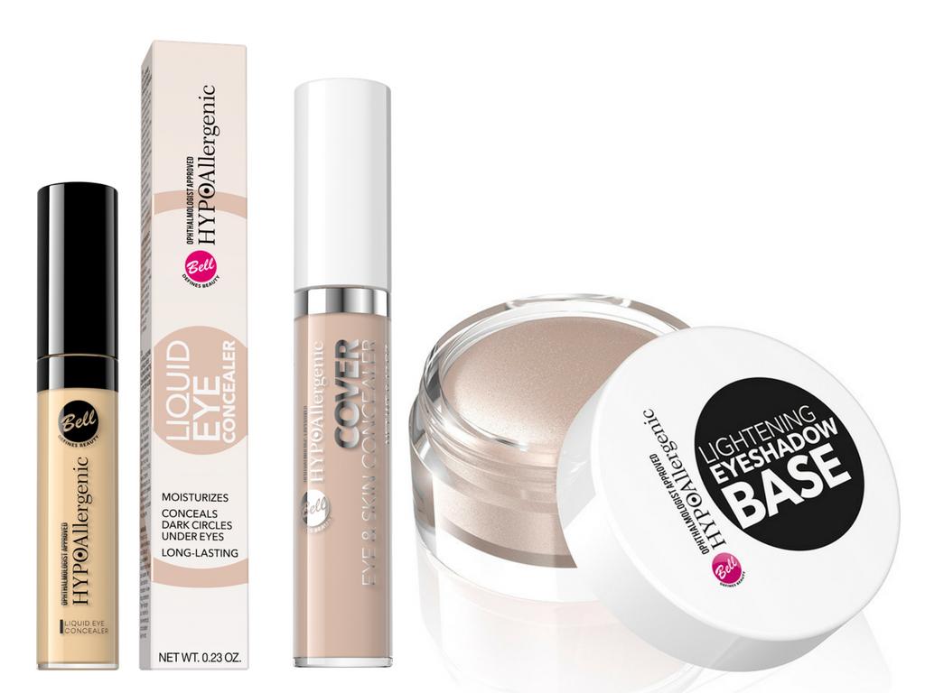 Baza i korektory Bell – podstawa udanego makijażu oczu