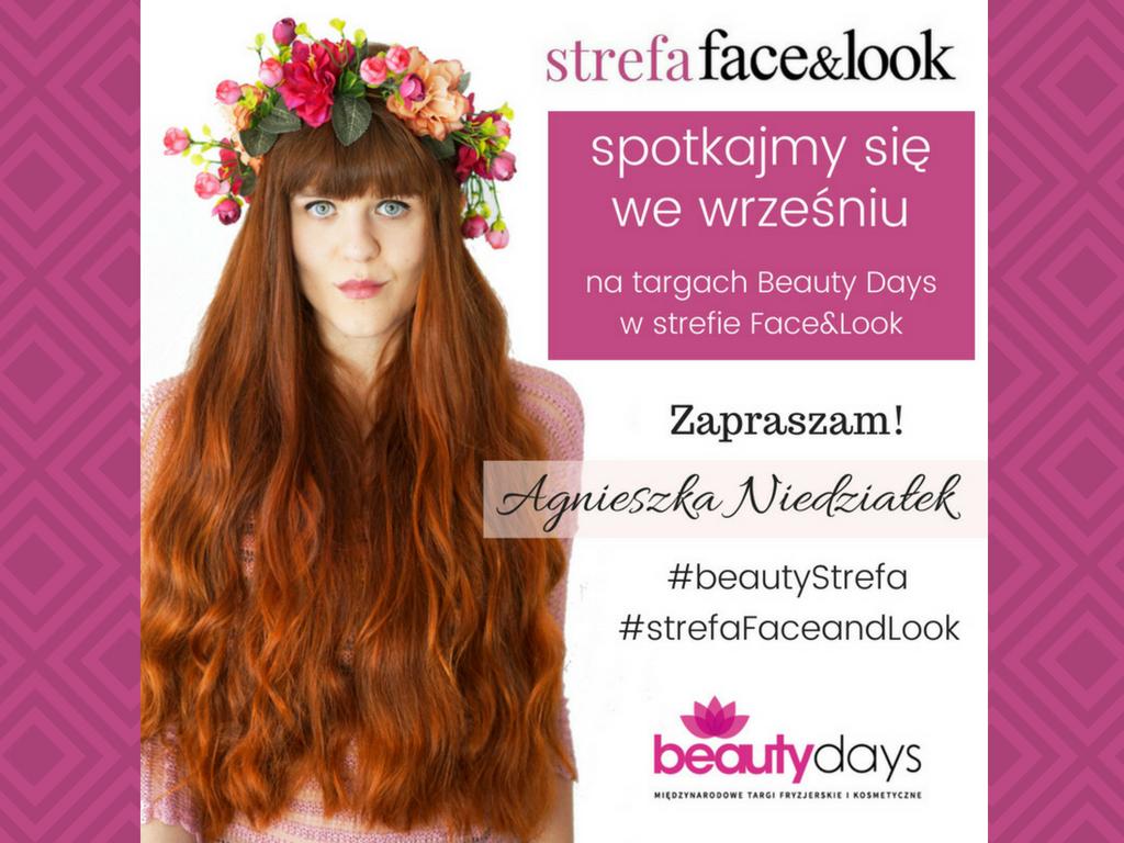 Blogerka Agnieszka Niedziałek opowiada o pielęgnacji włosów i zaprasza na spotkanie!
