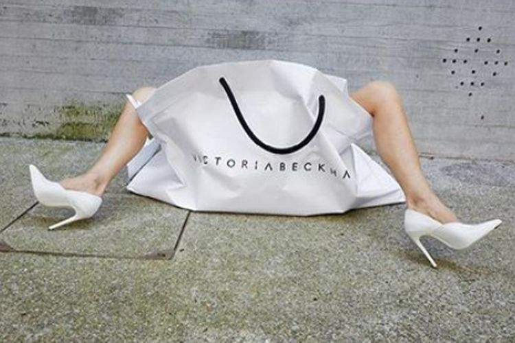 Koszulka z Victorią od Victorii Beckham