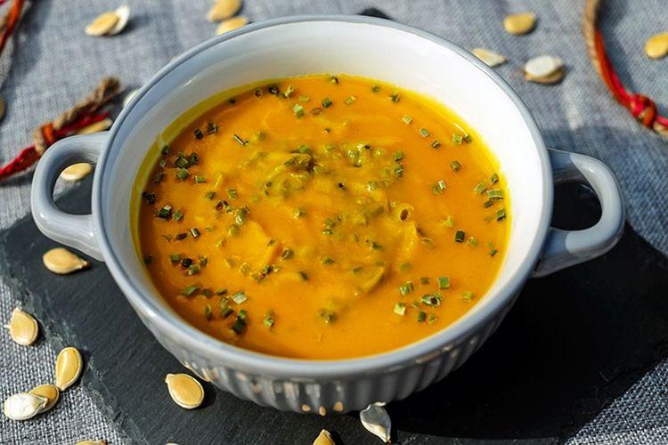 Dyniowa zupa miso
