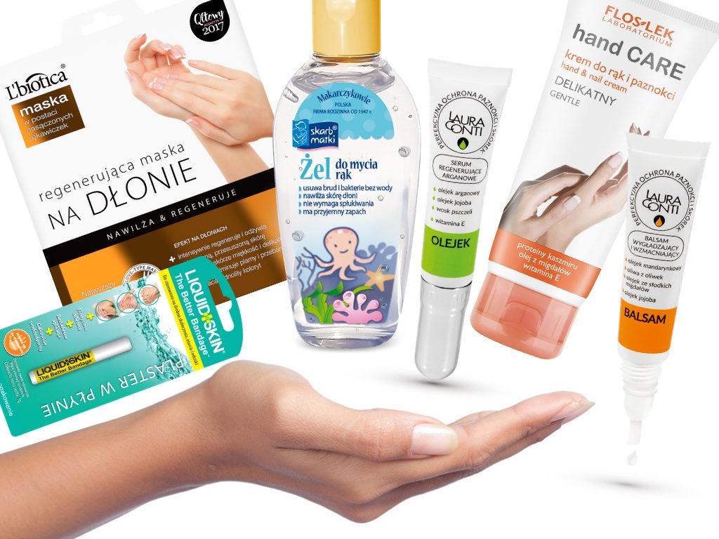 Wypielęgnowane dłonie – kosmetyki, które w tym pomogą