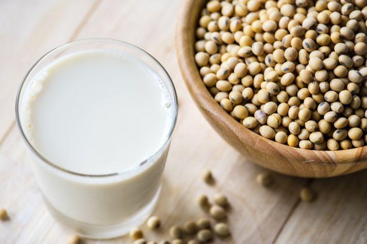Domowe mleczko sojowe