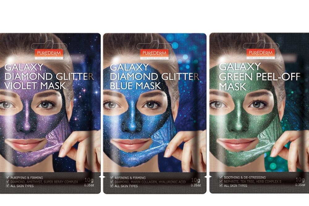 Maski Glitter Galaxy Peel-off od PUREDERM