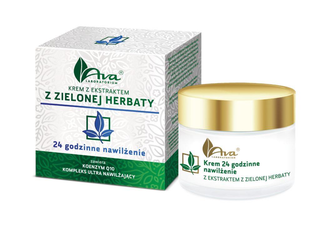 Kremy z ekstraktem z zielonej herbaty – Ava