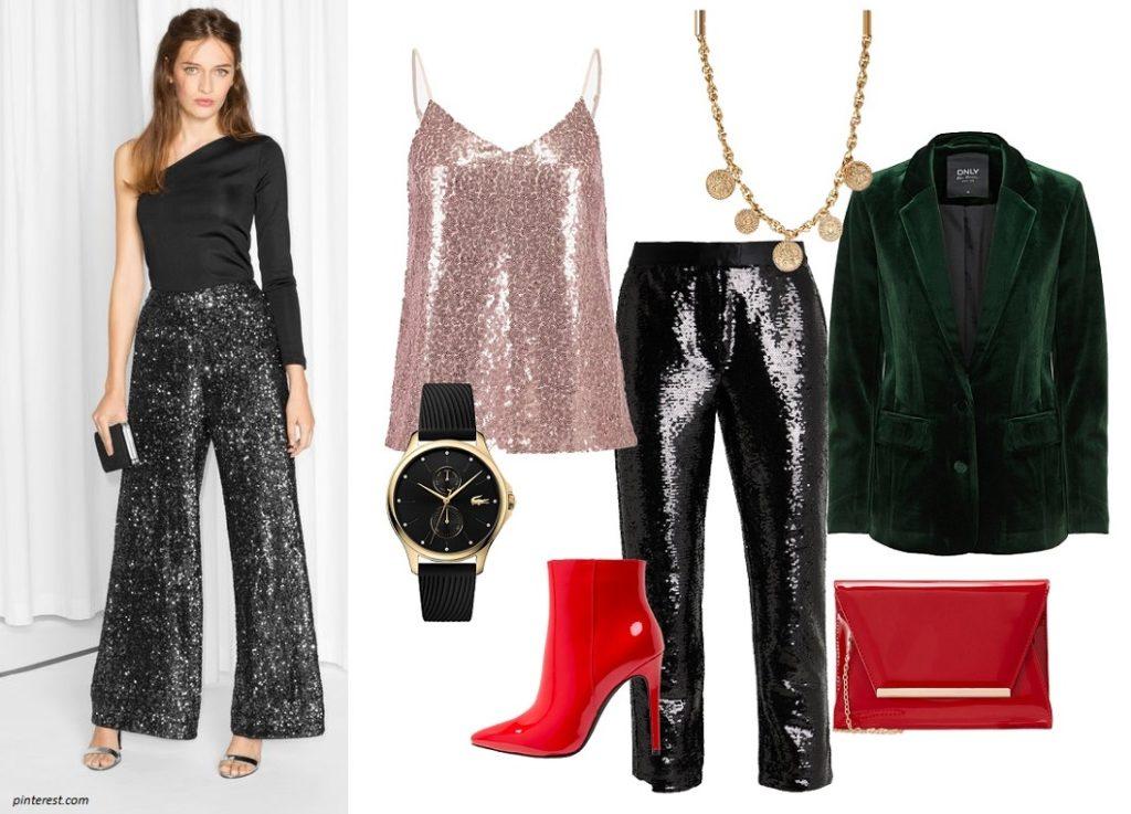 Spodnie i karnawałowe stylizacje