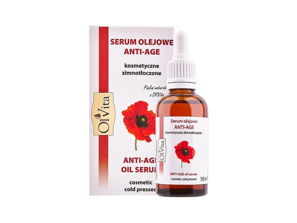 Kosmetyczne Serum olejowe Anti-Age marki Ol'Vita