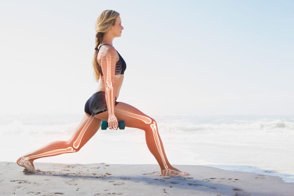 Jak sport wpływa na kości