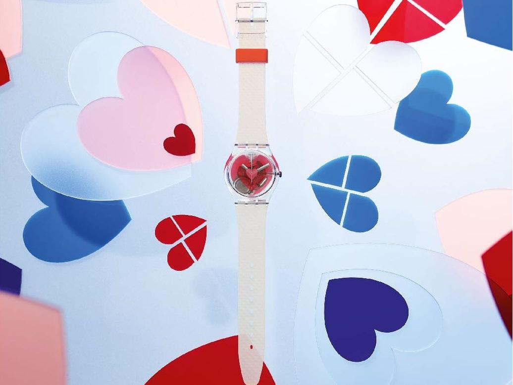 Walentynkowy zegarek Triple Love