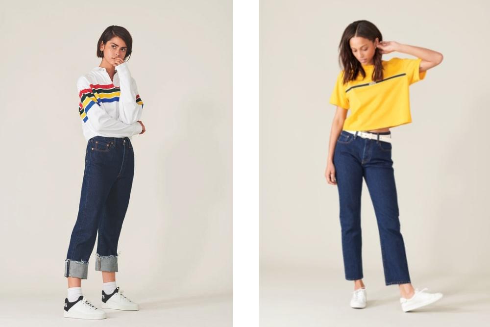 Trendy 2019 – jeansy z wysokim stanem