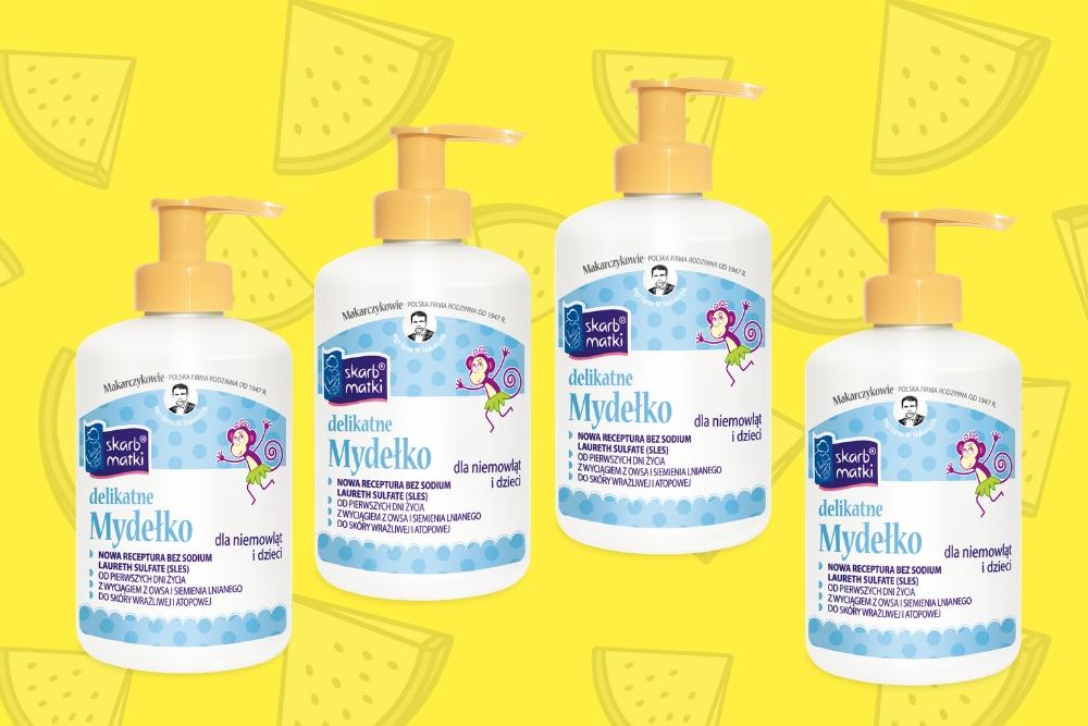 Skarb Matki – mydełko dla noworodka