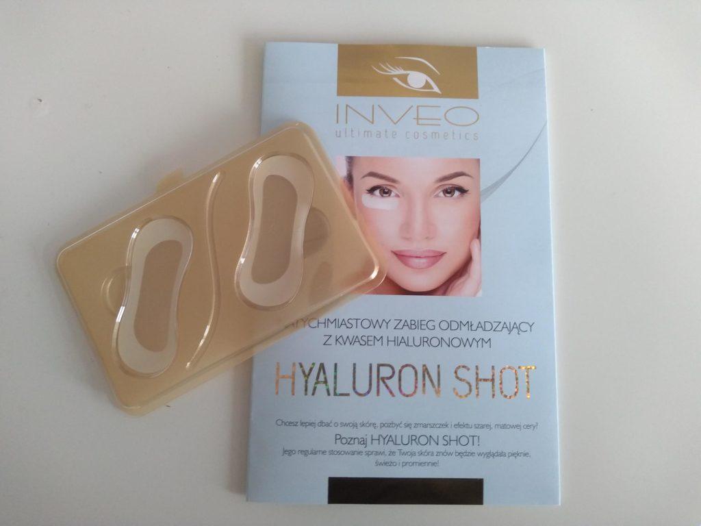 Plastry pod oczy INVEO z kwasem hialuronowym