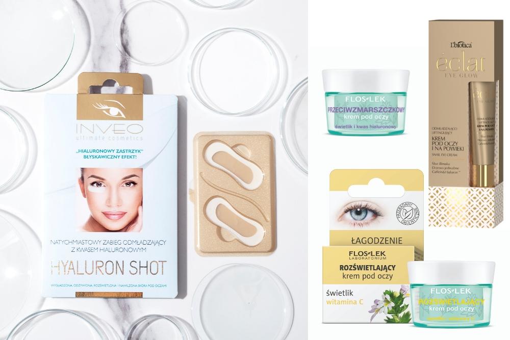 Dobre kosmetyki pod oczy