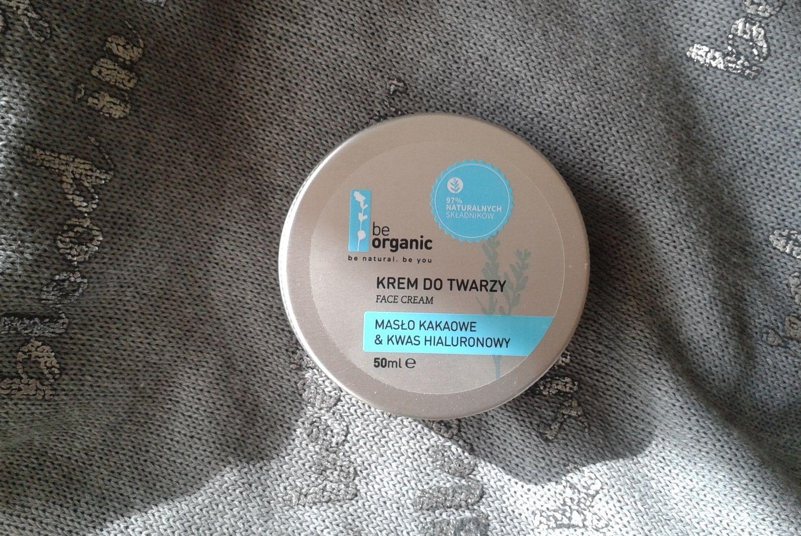 Krem Be Organic masło Kakaowe & Kwas Hialuronowy