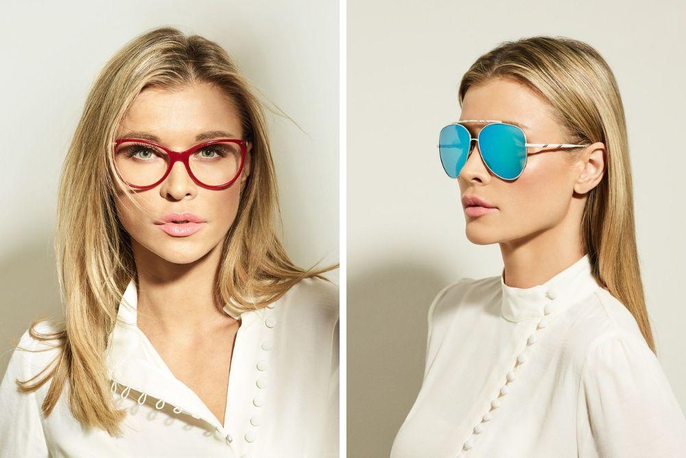 Joanna Krupa okulary Scappa
