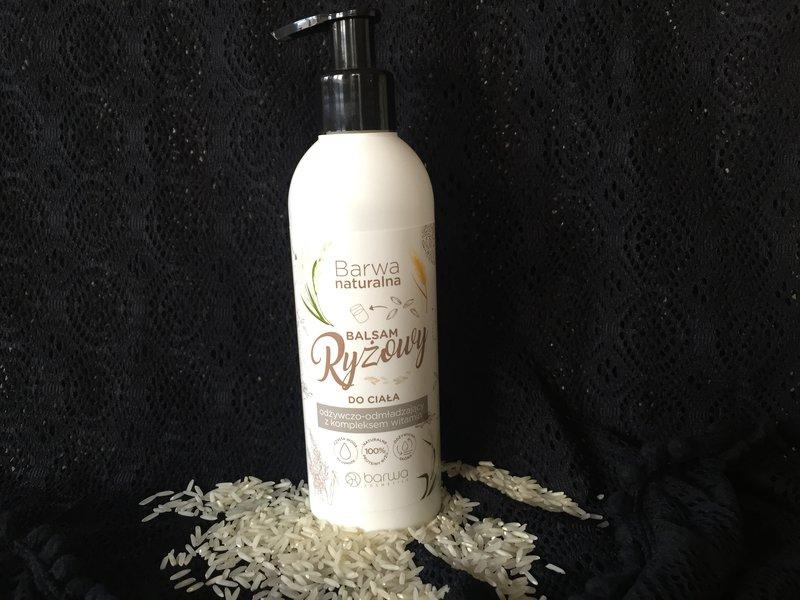 Balsam ryżowy do ciała Barwa Naturalna