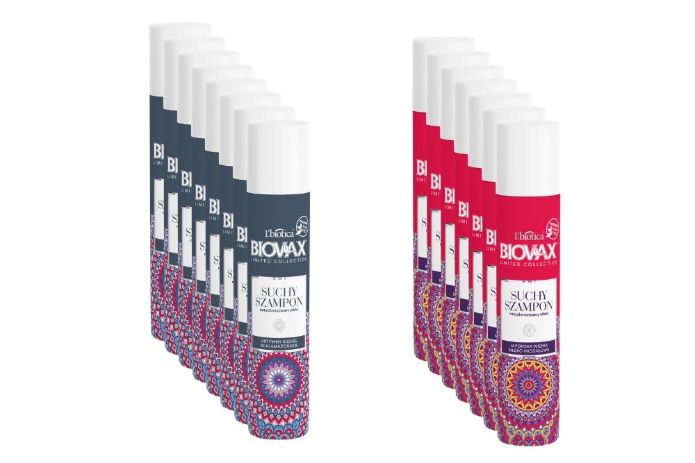 Suchy szampon L'biotica – błyskawiczne odświeżenie