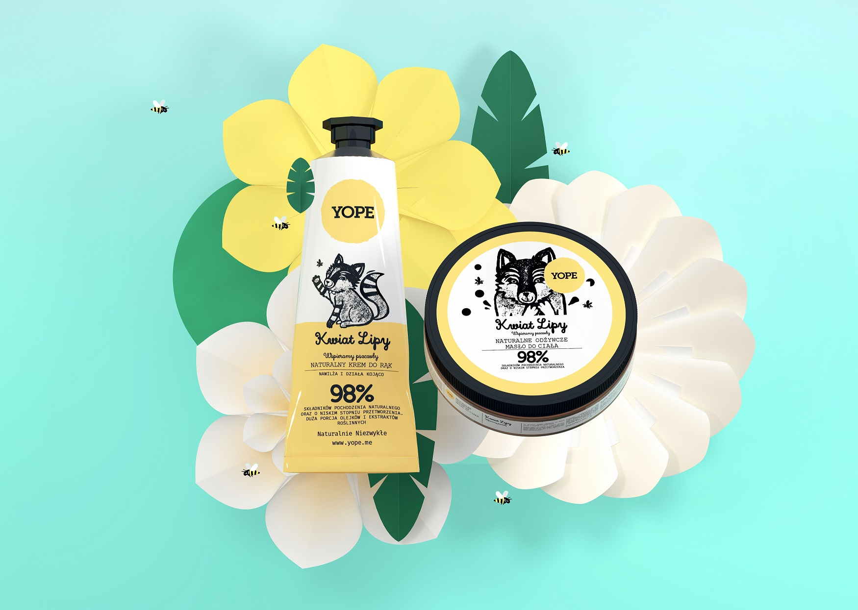 Kwiat Lipy od Yope