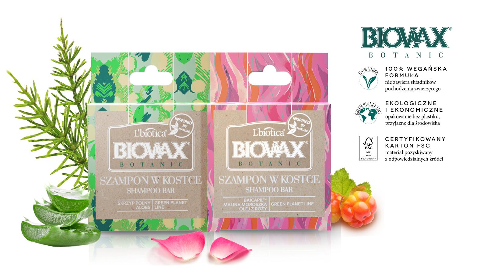 W trendzie zero waste – szampony w kostce Biovax Botanic