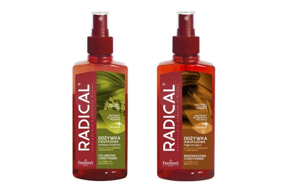 Mgiełki do włosów Radical