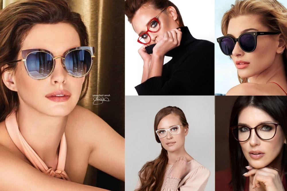 Okulary w stylu maxi