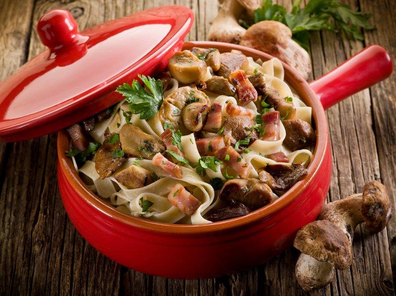 Grzyby – 3 pomysły na obiady