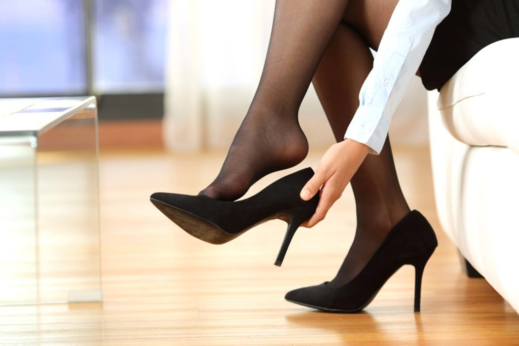 Jak obuwie wpływa na kręgosłup?