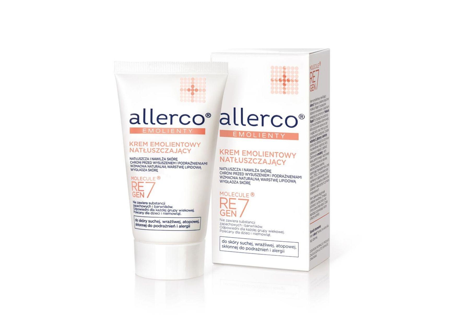 Krem natłuszczający Allerco na zimowe podrażnienia