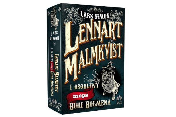 """""""Lennart Malmkvist i osobliwy mops Buri Bolmena"""" Larsa Simona. Zapowiedź"""