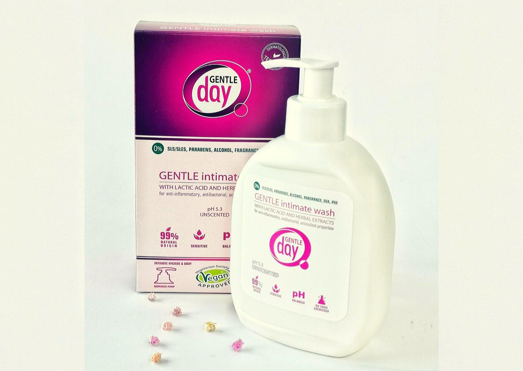 Delikatny płyn do higieny intymnej Gentle Day
