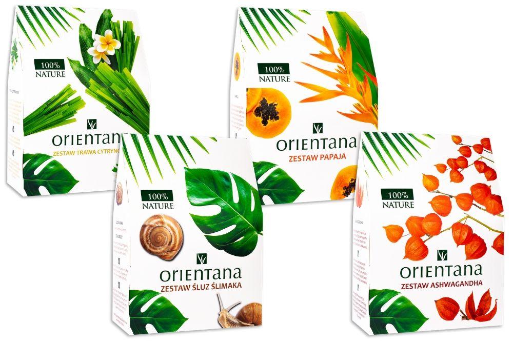Zestawy kosmetyków Orientana