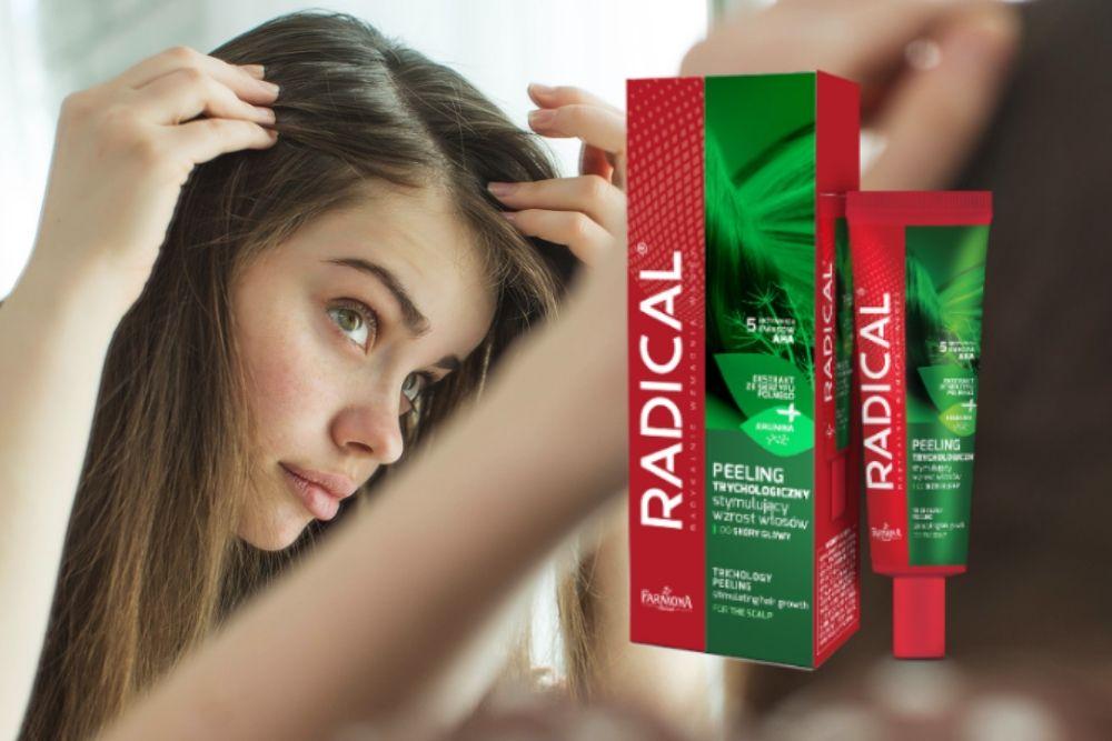 Peeling trychologiczny marki Radical