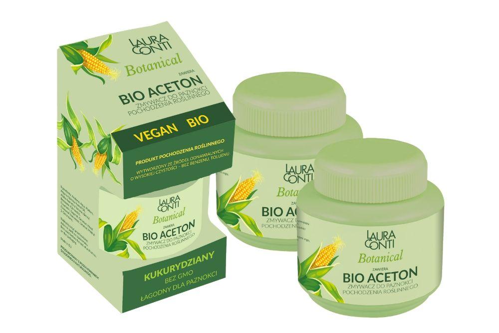 Zmywacz LAURA CONTI Botanical Bio Aceton – HIT sezonu