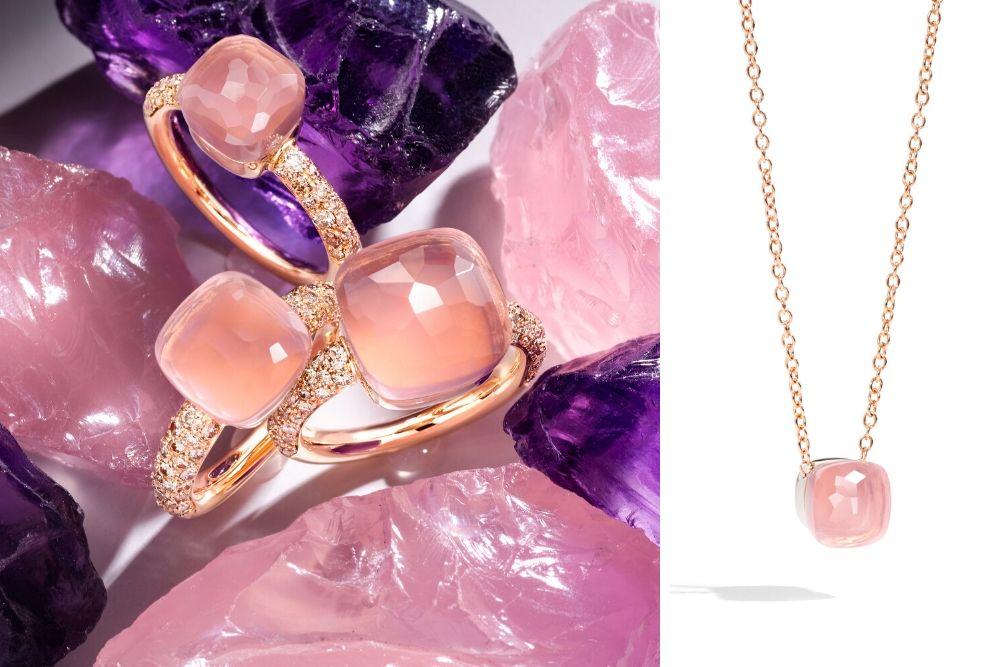 nodo pink biżuteria