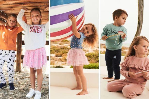 moda na lato dla dzieci