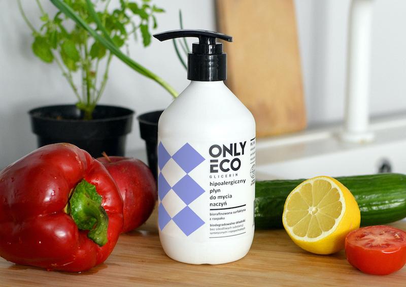 Płyn do mycia naczyń, warzyw i owoców