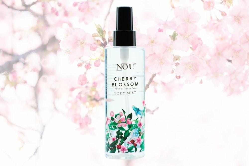 Mgiełka do ciała NOU Cherry Blossom