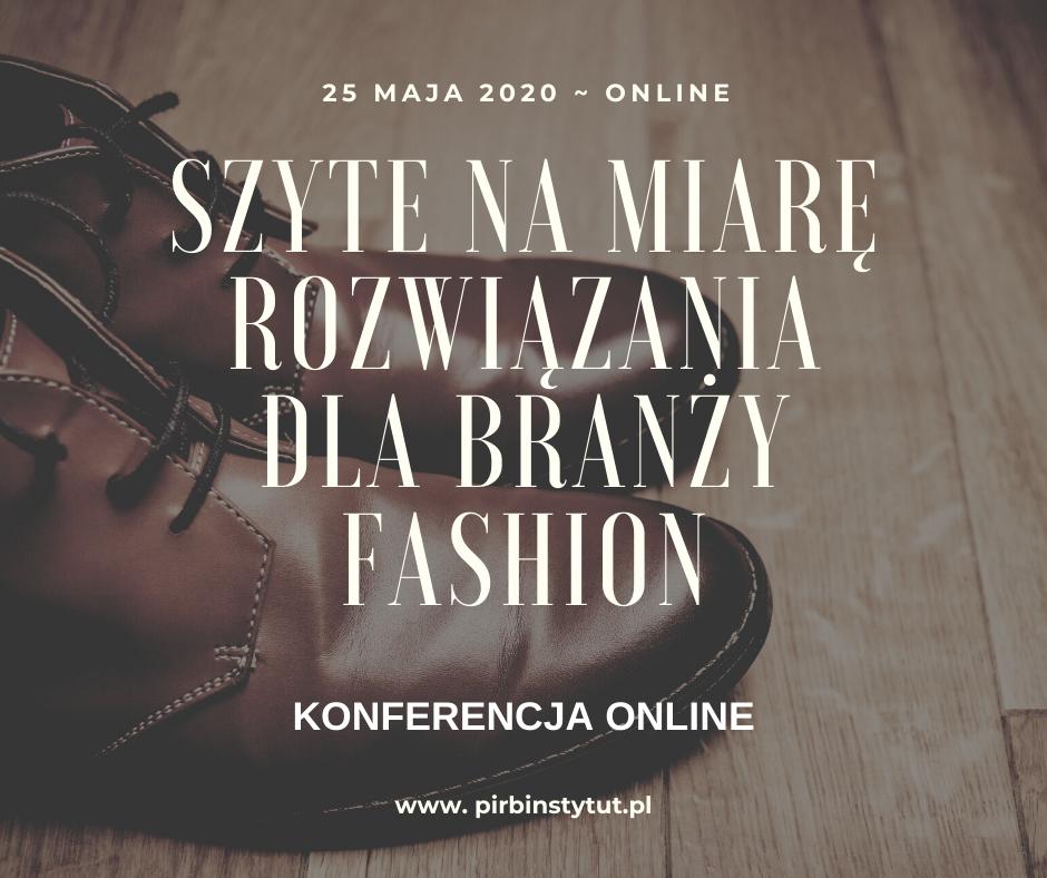 """Konferencja online """"Szyte na miarę"""" już 25 maja"""