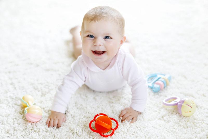 Dziecko w 5 miesiącu życia