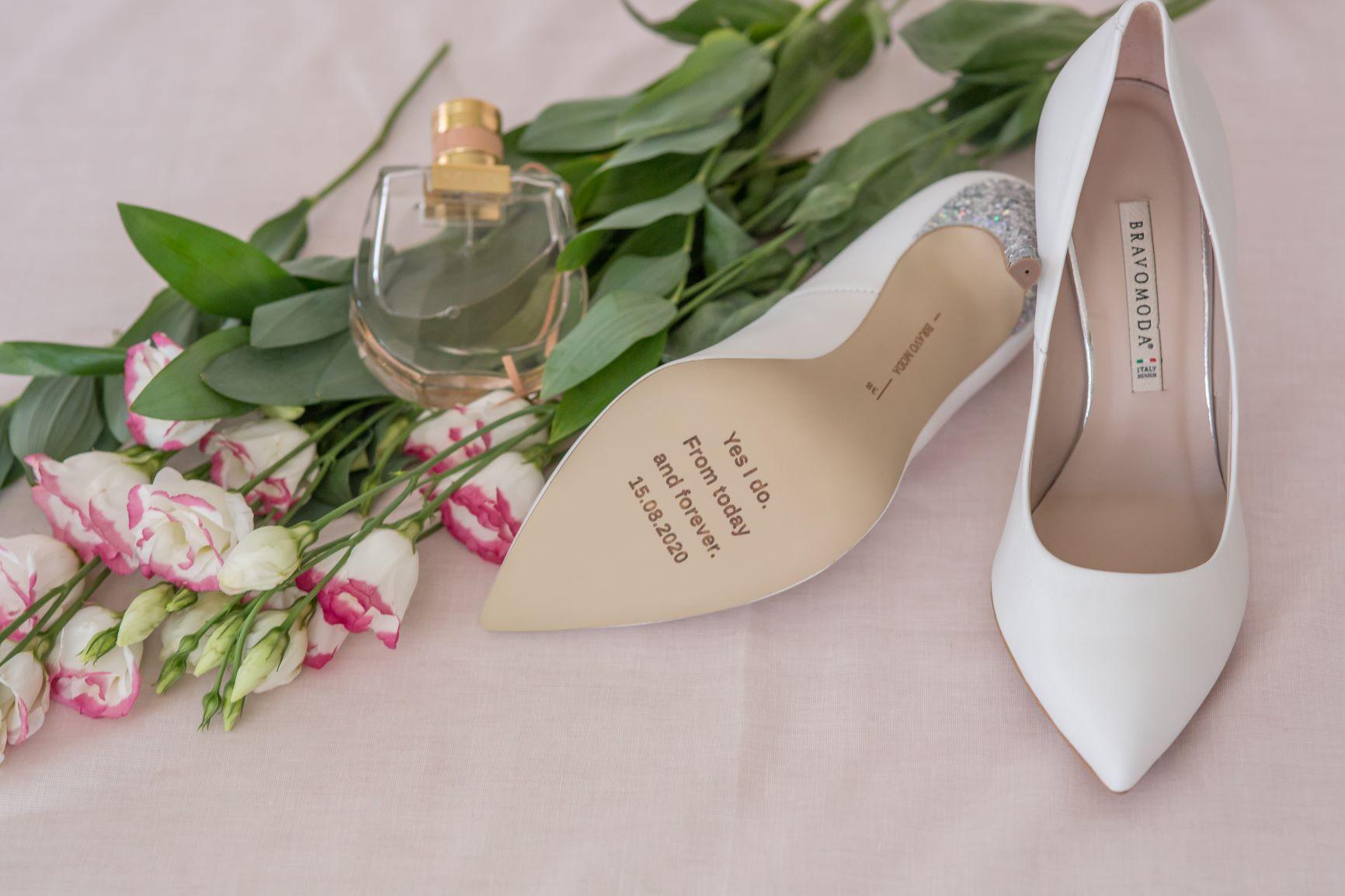 Wyjątkowe buty ślubne