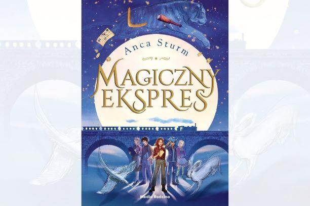 książka Magiczny Ekspres dla młodych czytelników