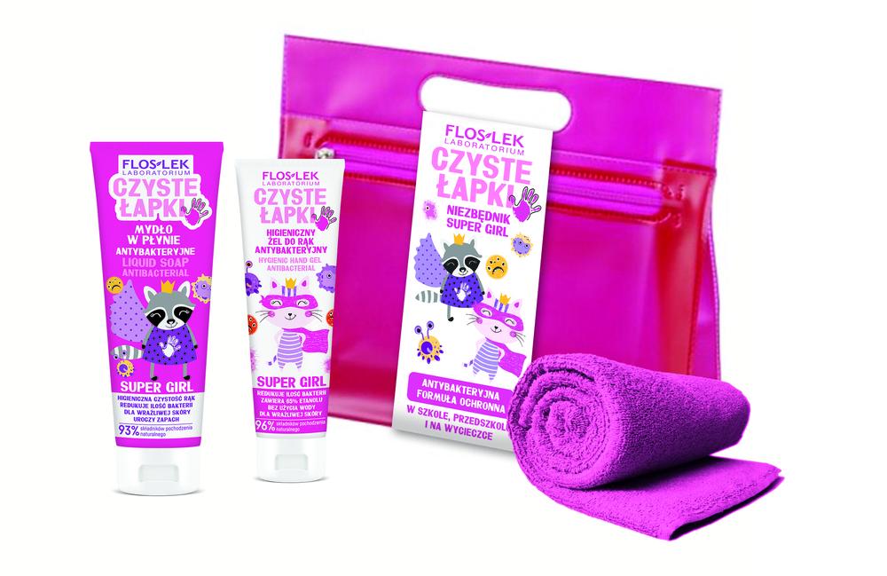 Czyste Łapki – mydełka i żele antybakteryjne dla dzieci