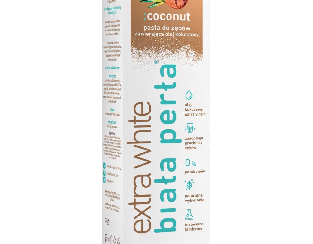 Pasta do zębów kokosowa