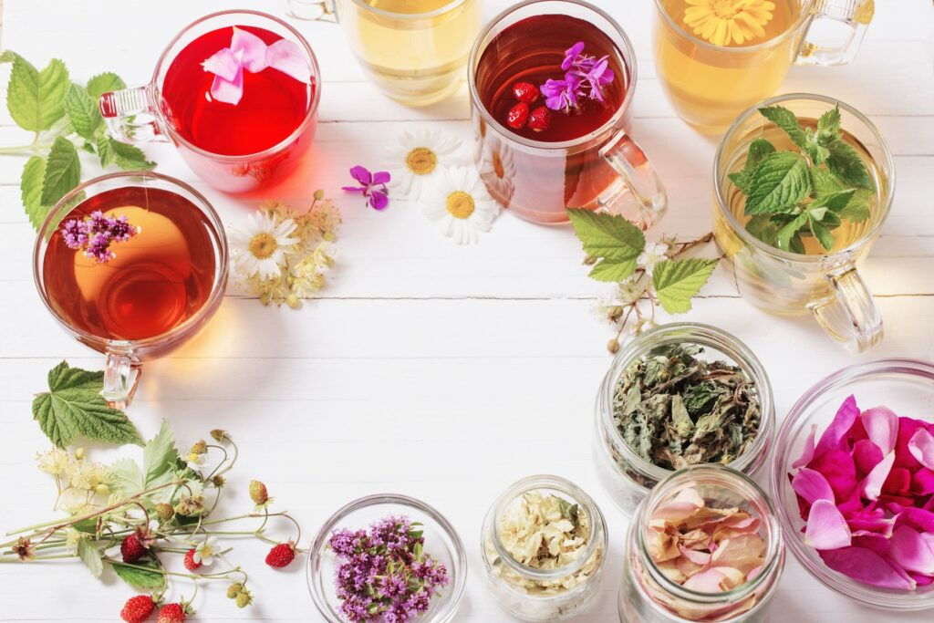 Kwiaty do herbaty