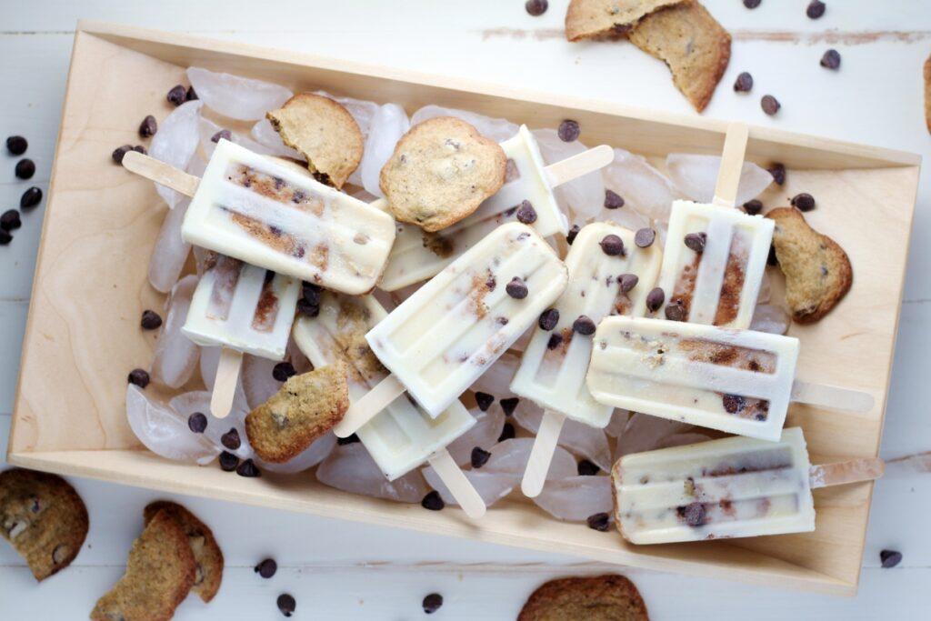 Lody z ciasteczkami