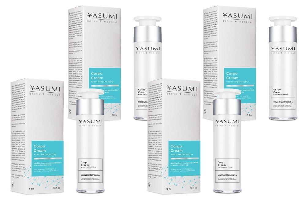 Antyoksydacja i Yasumi Corpo Cream